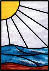 4 ochtenden Glas in lood / Tiffany cursus