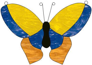 Tiffany vlinder 13